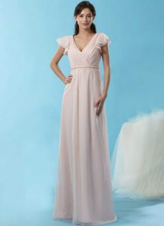Emma bridals bridesmaid dress 7442