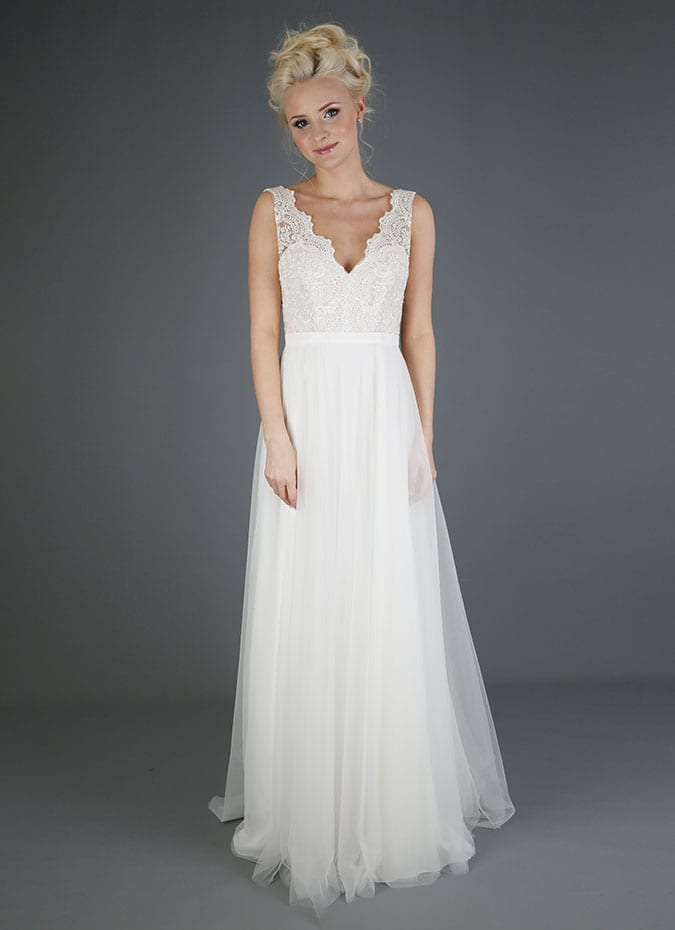 Emma Bridals SL094 Wedding Dress