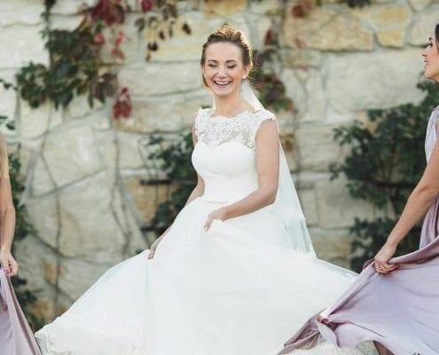 Martels bridal boutique bride and bridesmaids