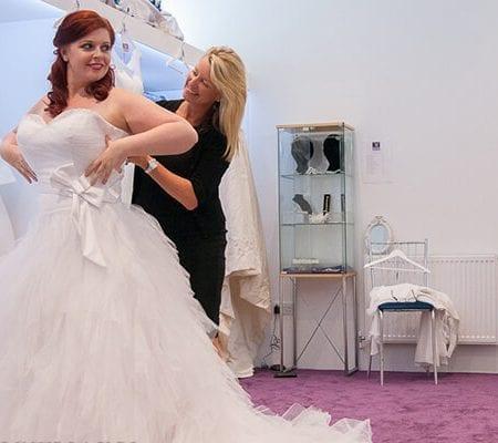 Martels bridal Bride and consultant