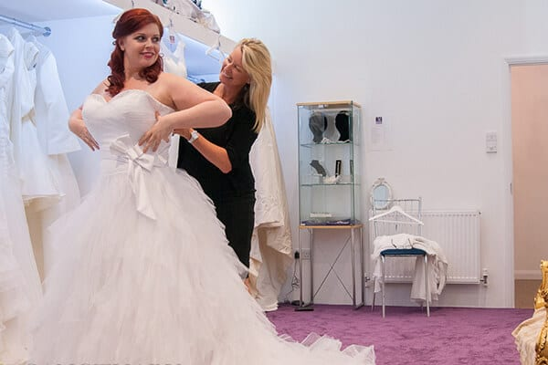 Martels bridal Bride and consultant