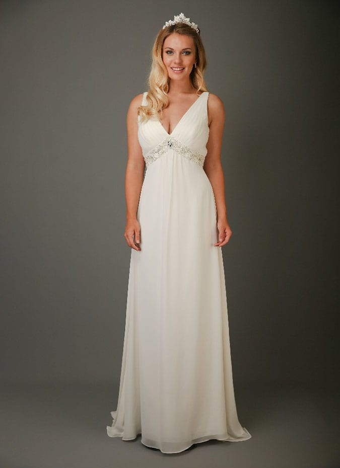 Emma Bridals SL086 Wedding Dress
